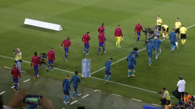 No Supercopa de Espana Guard of Honor for Champions Real Madrid