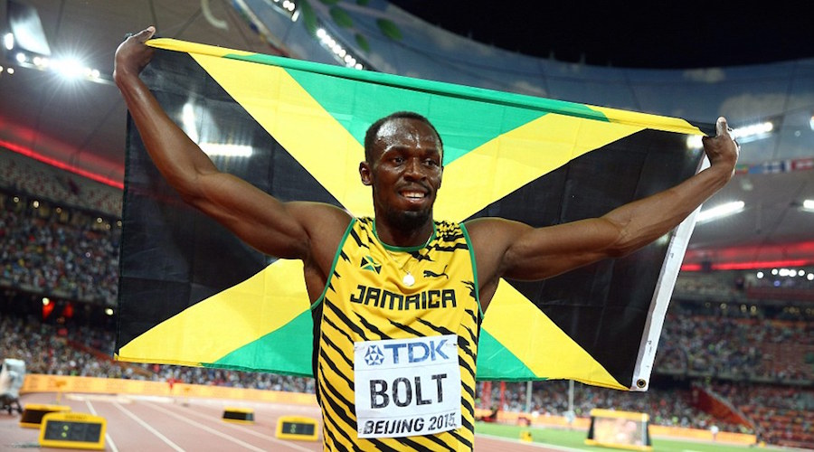 Usain Bolt wins Gold at world championship