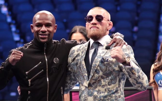 Floyd Mayweather v Conor McGregor: Las Vegas bout misses gate-receipt record