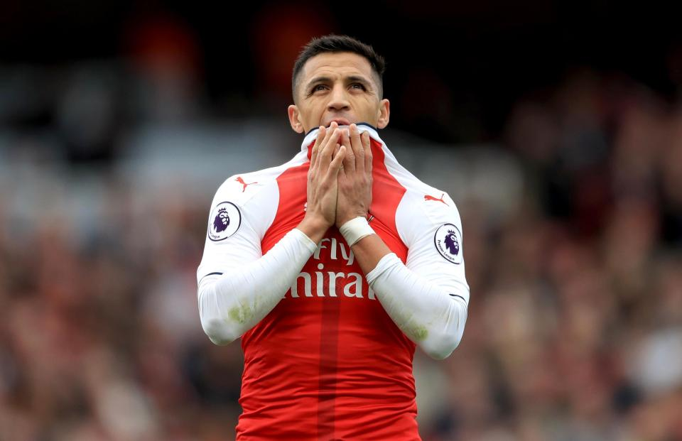 Arsenal demand over £70m for Alexis Sanchez after rejecting Manchester City's opening offer