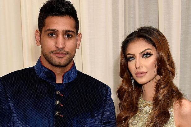 "Amir Khan's ""Gold-digger"" Wife tries to reconcile after very Public Twitter Feud, His People Claim"