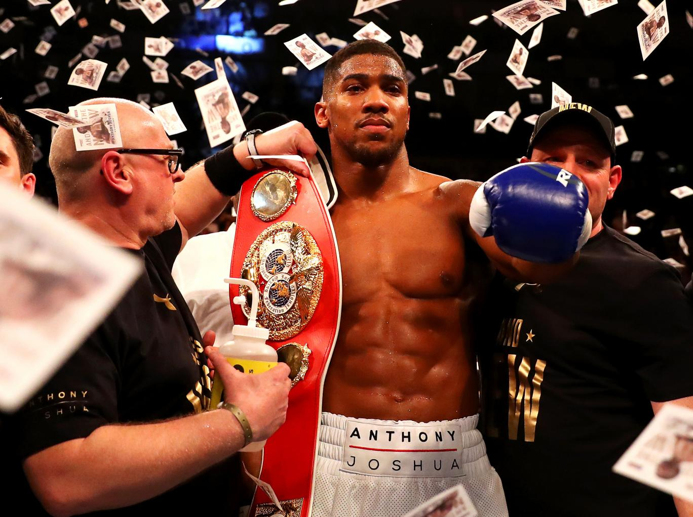 Joshua gives Klitschko deadline for heavyweight rematch