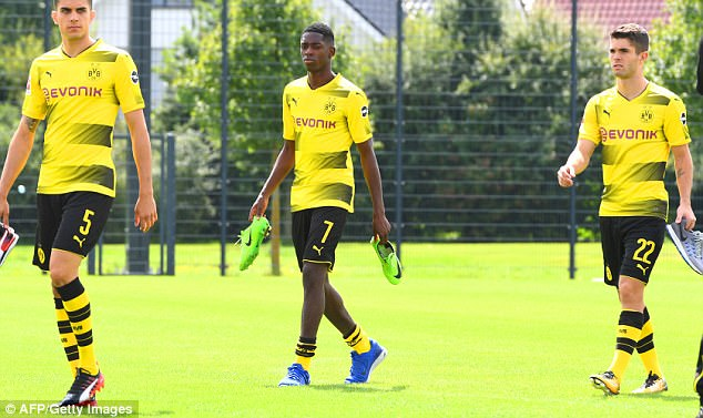 Borussia Dortmund REJECT Barcelona bid for Ousmane Dembele