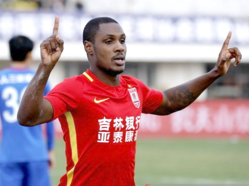 Odion Ighalo Bags a Brace in Six-goal Thriller vs Tianjin Teda