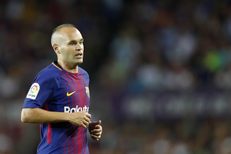 Andres Iniesta hints he may leave Barcelona on a free when contract expires next summer
