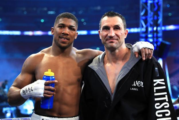 Joshua admits 'massive' disappointment after Wladimir Klitschko announced retirement