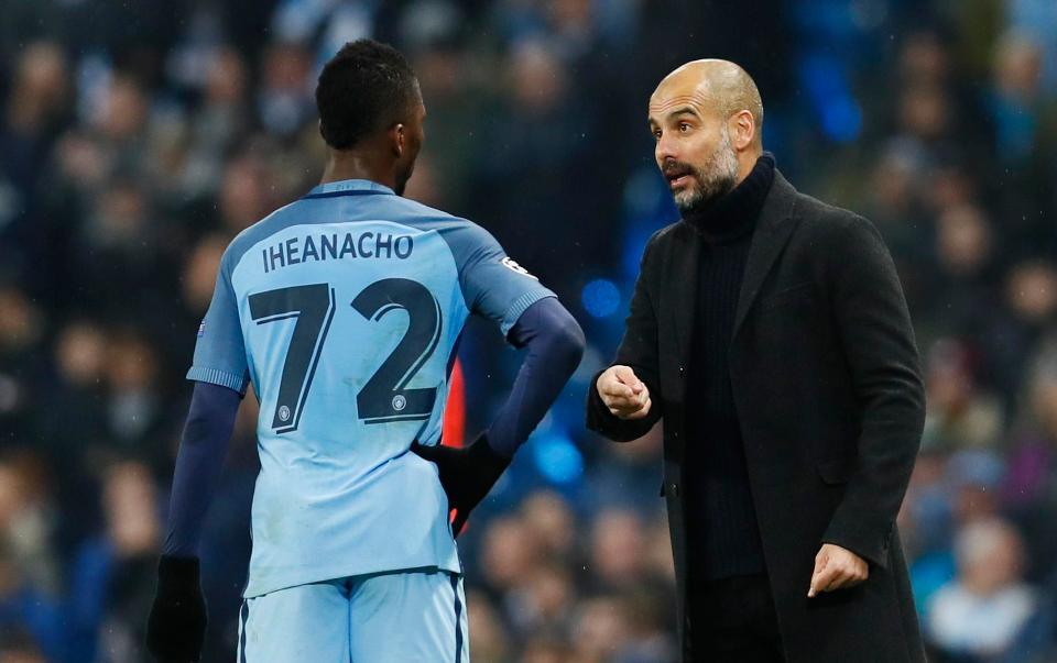 Kelechi Iheanacho exit reveals Pep Guardiola power at Man City
