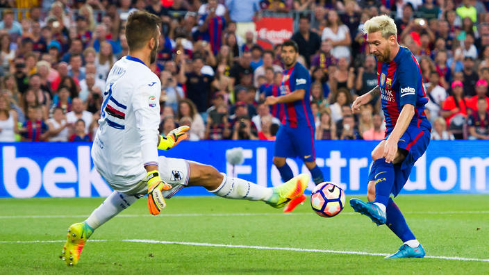 Barcelona cruise to Joan Gamper Trophy victory vs. Chapecoense