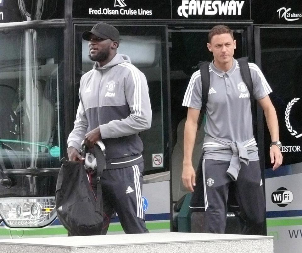 Manchester United new boy, Nemanja Matic set for debut as he travels to Dublin for friendly alongside Romelu Lukaku and Paul Pogba