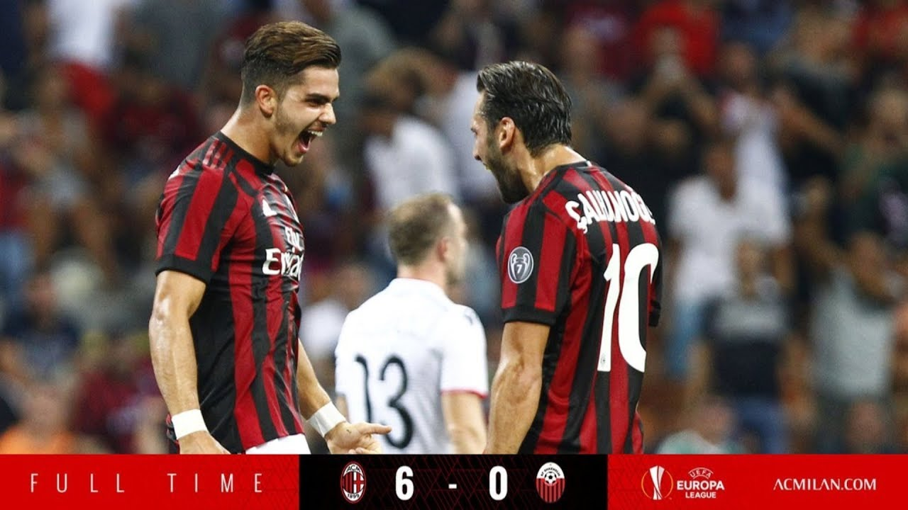 AC Milan vs Shkendija 6-0 | Highlights & All Goals