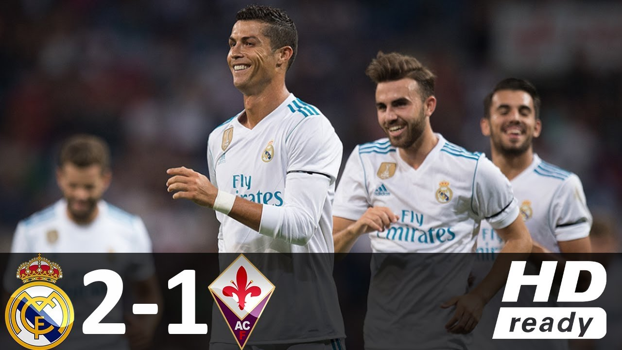 Real Madrid vs Fiorentina 2-1 – All Goals & Highlights – Friendly