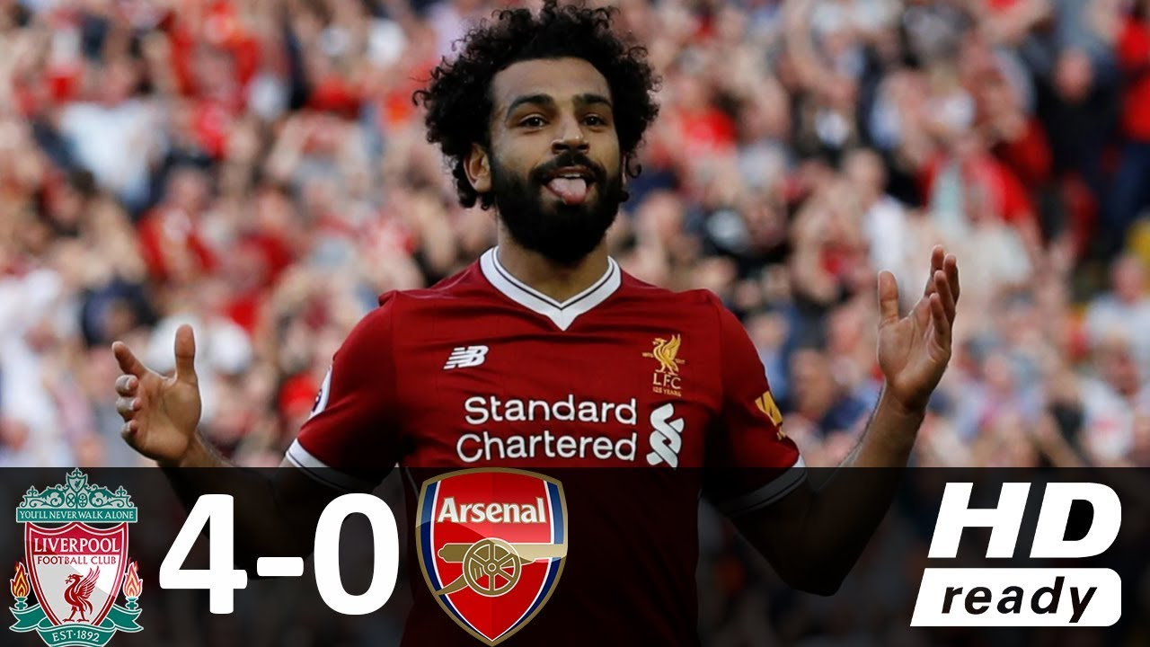 Liverpool vs Arsenal 4-0 – All Goals & Highlights