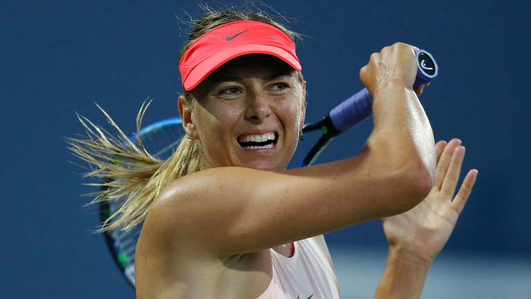 Maria Sharapova passionate ahead of US Open after 'tough' suspension