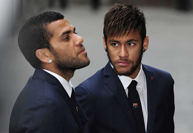 Dani Alves reveals Neymar persuaded him to join Paris Saint-Germain – a month prior to own world-record mov
