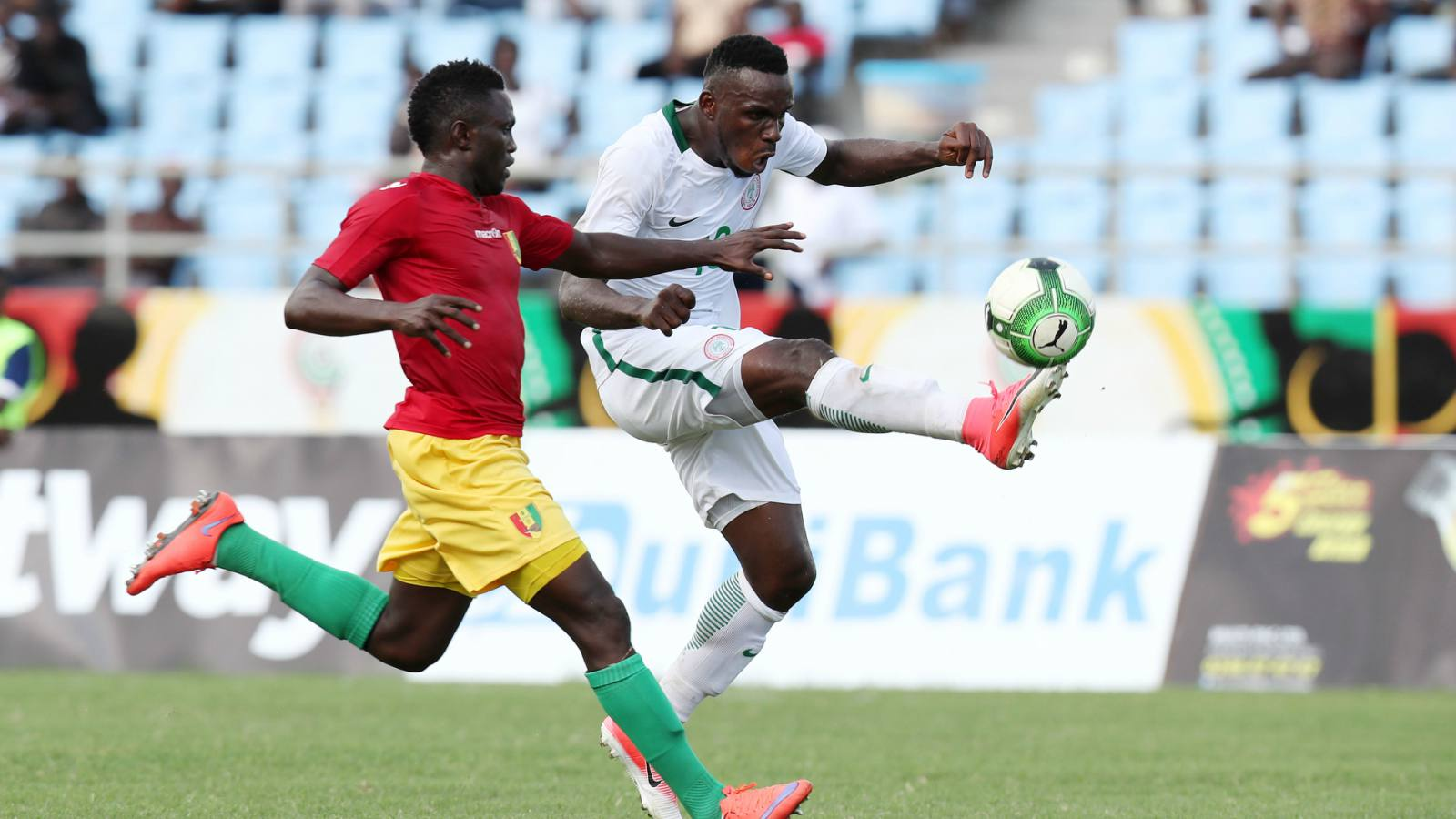 2017 WAFU Nations Cup: Nigeria fires blank again in Guinea goalless stalemate
