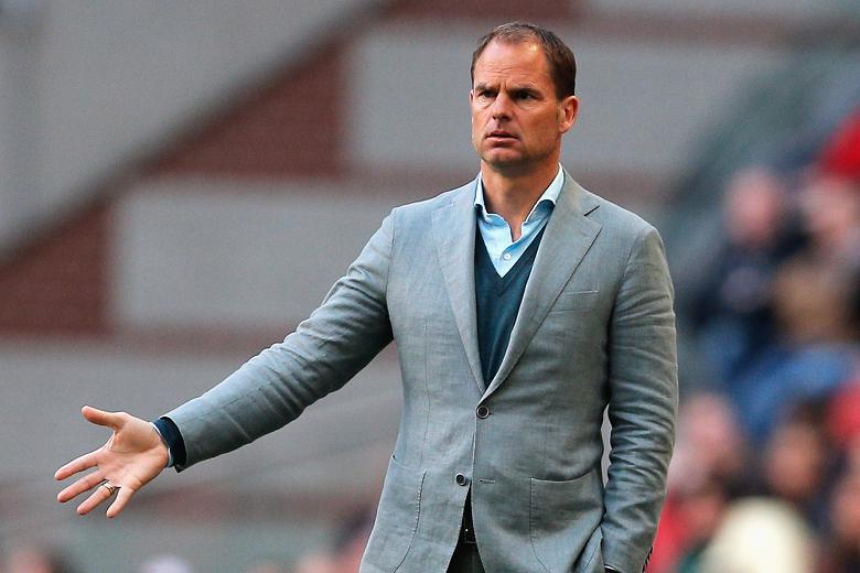 Crystal Palace fires Frank de Boer after four games in charge