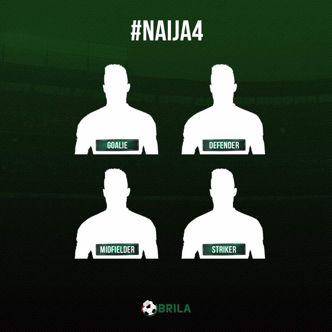 #Naija4: Join the conversation to name your all-time best Super Eagles players