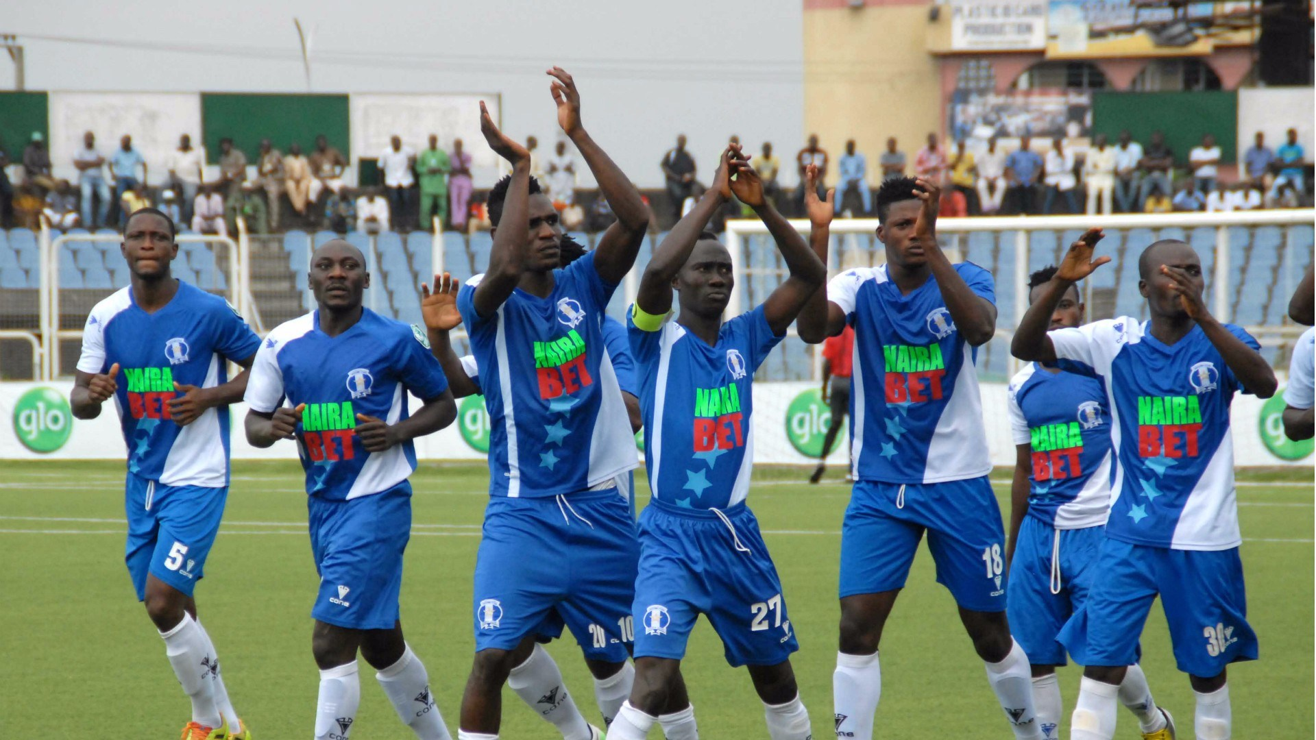Shooting Stars Sports Club (3SC) players have decided to proceed on an indefinite strike
