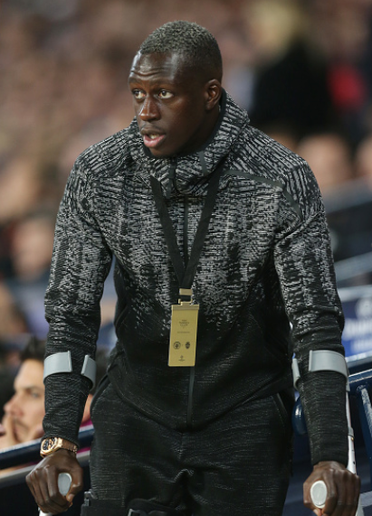 Benjamin Mendy Reacts to news of Nine-month Injury Lay off in a beautiful way