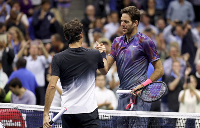 US Open 2017: Juan Martin del Potro beats Roger Federer to make semi-finals