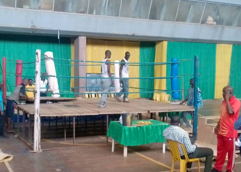 Shame! See the Boxing Ring provided for National Youth Games