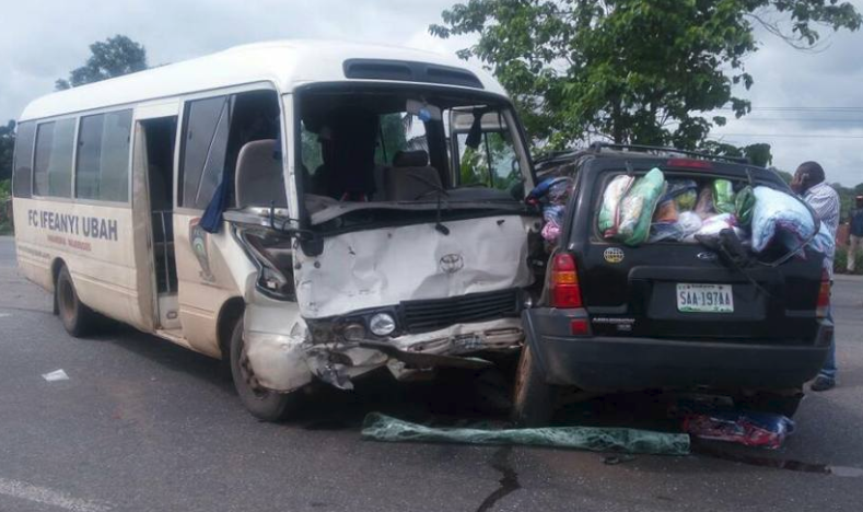 FC IfeanyiUbah Bus Crash! Six Players Injured, Two Unconscious now up and Stable