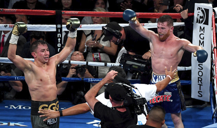 Golovkin Spoils for rematch against Canelo after controversial draw in Las Vegas