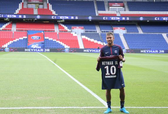 Neymar's Jersey Sales causing PSG Headaches