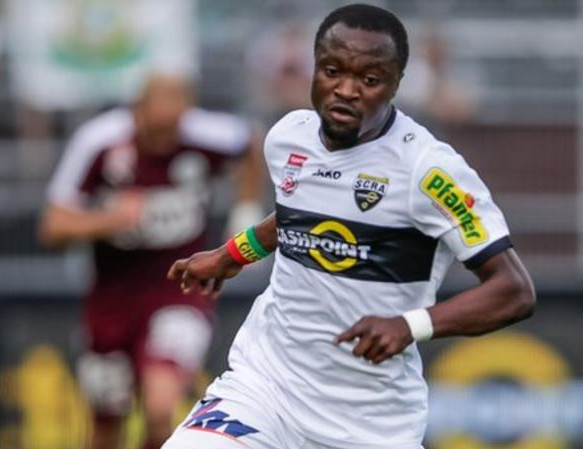 Ghanaian Player, who Racially abused, gets Two-match Ban by Austrian FA