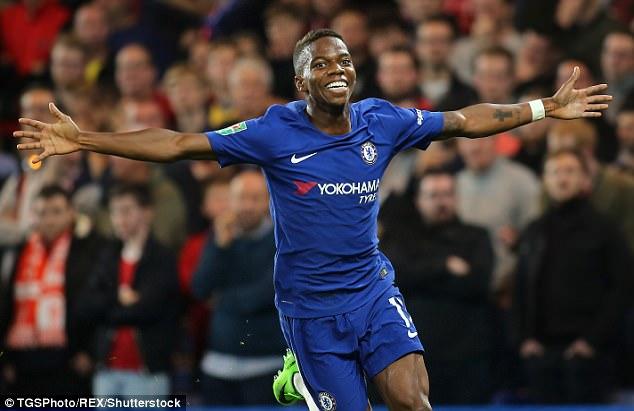 Musonda admits he cried while celebrating goal for Chelsea