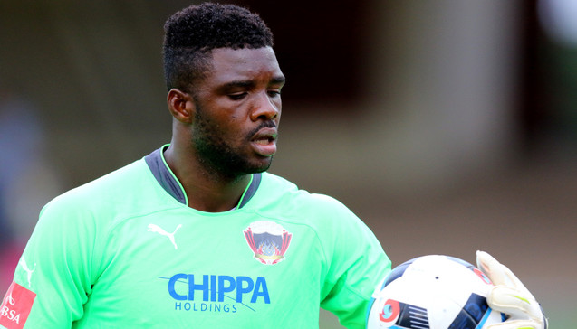 Rohr Receives Good News : Akpeyi Will Start For Chippa United Tonight