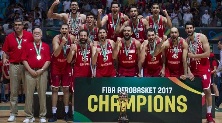 Tunisia beat Nigeria to become FIBA AfroBasket 2017 Champions