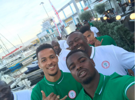Echiejile, Moses, six other players arrive Super Eagles Wroclaw camp