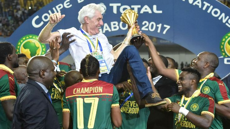 Cameroon will play to seek Nigeria redemption – Hugo Broos