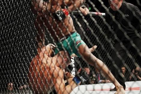 UFC FIGHT NIGHT: Self acclaimed 'Nigerian Nightmare', Kamaru Usman wrecks Sergio Moraes