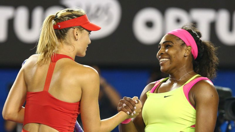 Maria Sharapova: Serena Williams and myself are not friends at all'