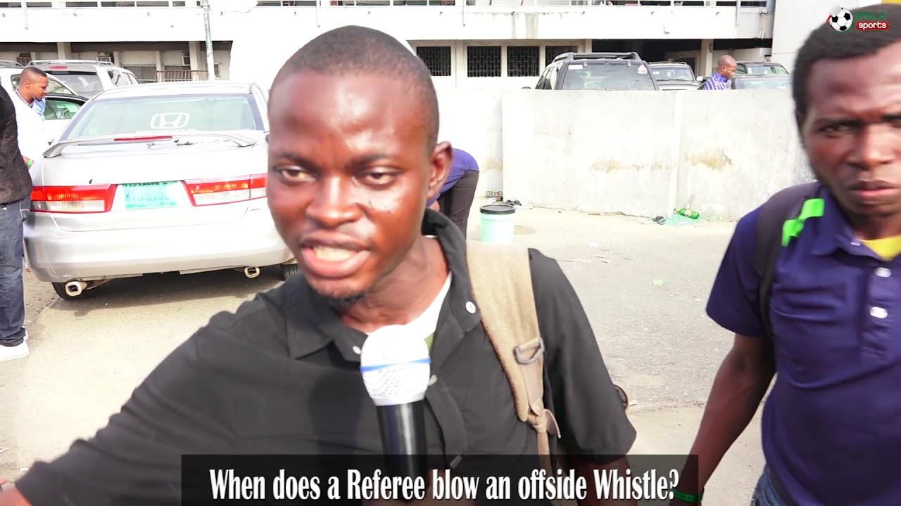 KICTIONARY- How well do you know the offside rule…Nigerians speak!