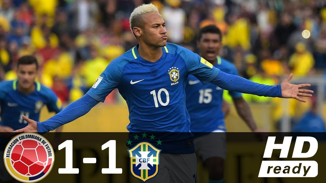 Colombia vs Brazil 1-1 – All Goals & Highlights – World Cup Qualifiers