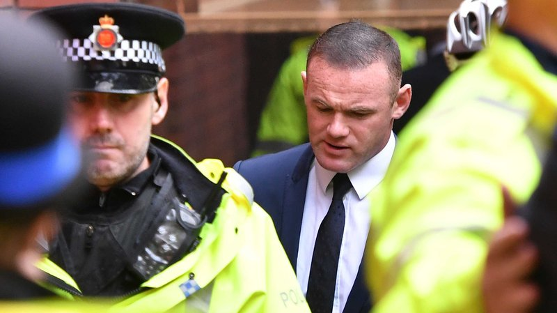 Wayne Rooney apologises for 'unforgivable lack of judgement' as he is banned from driving for two years
