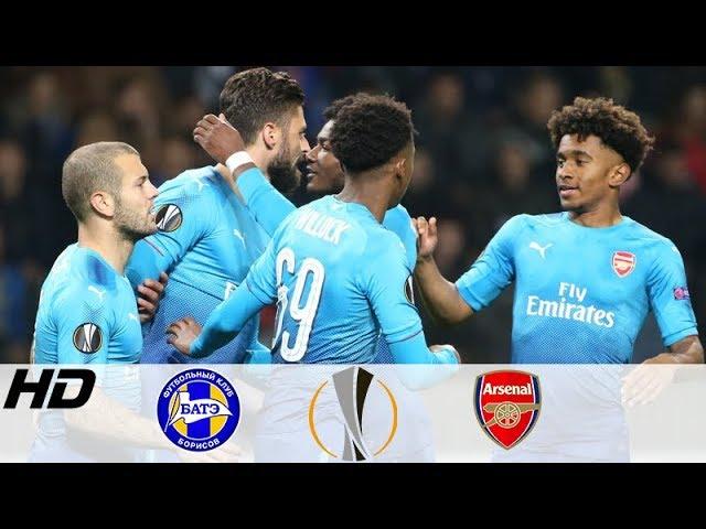 BATE vs Arsenal 2-4 – Europa League Goals & Highlights