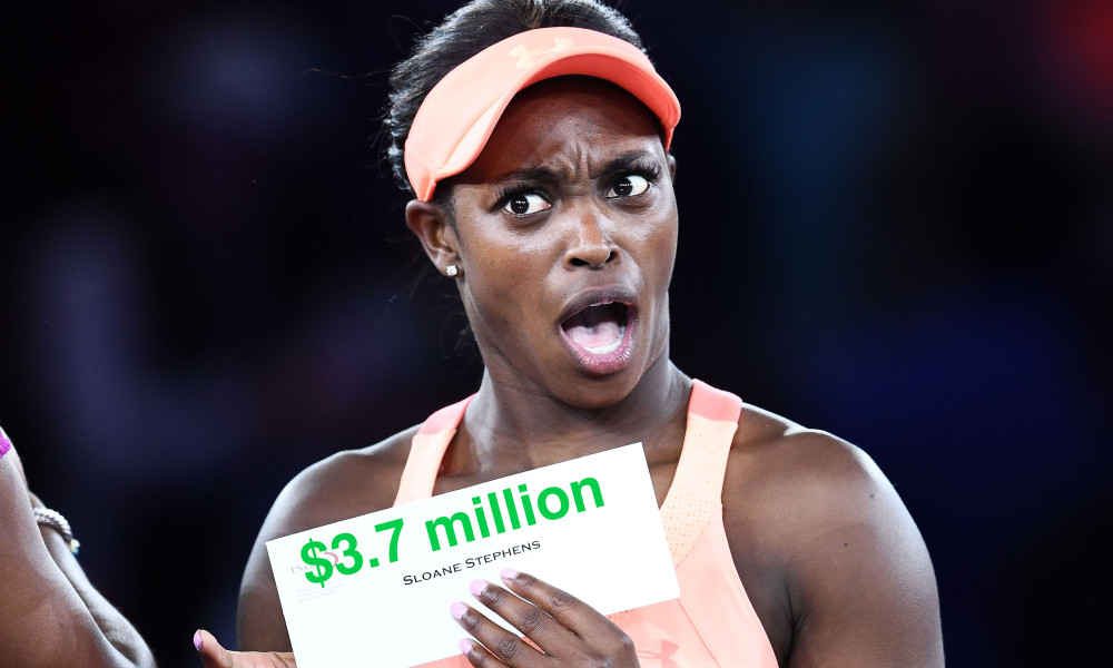 Sloane Stephens still getting used to the trappings of wealth after US Open Victory