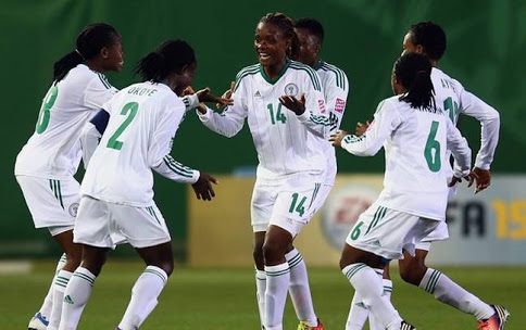 Rasheedat Ajibade at the double as Falconets thrashed Tanzania in Benin-city