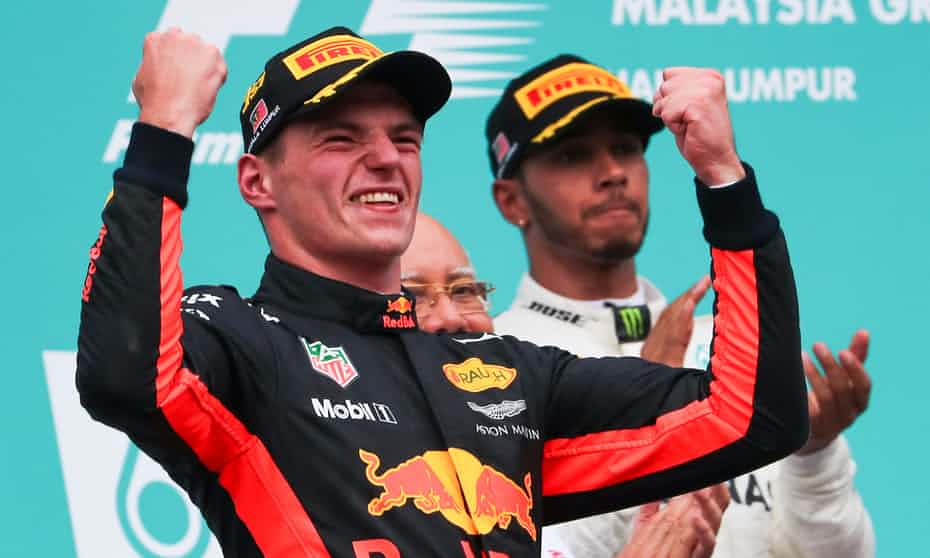 Breaking: Max Verstappen beats Lewis Hamilton to win F1 Malaysian Grand Prix