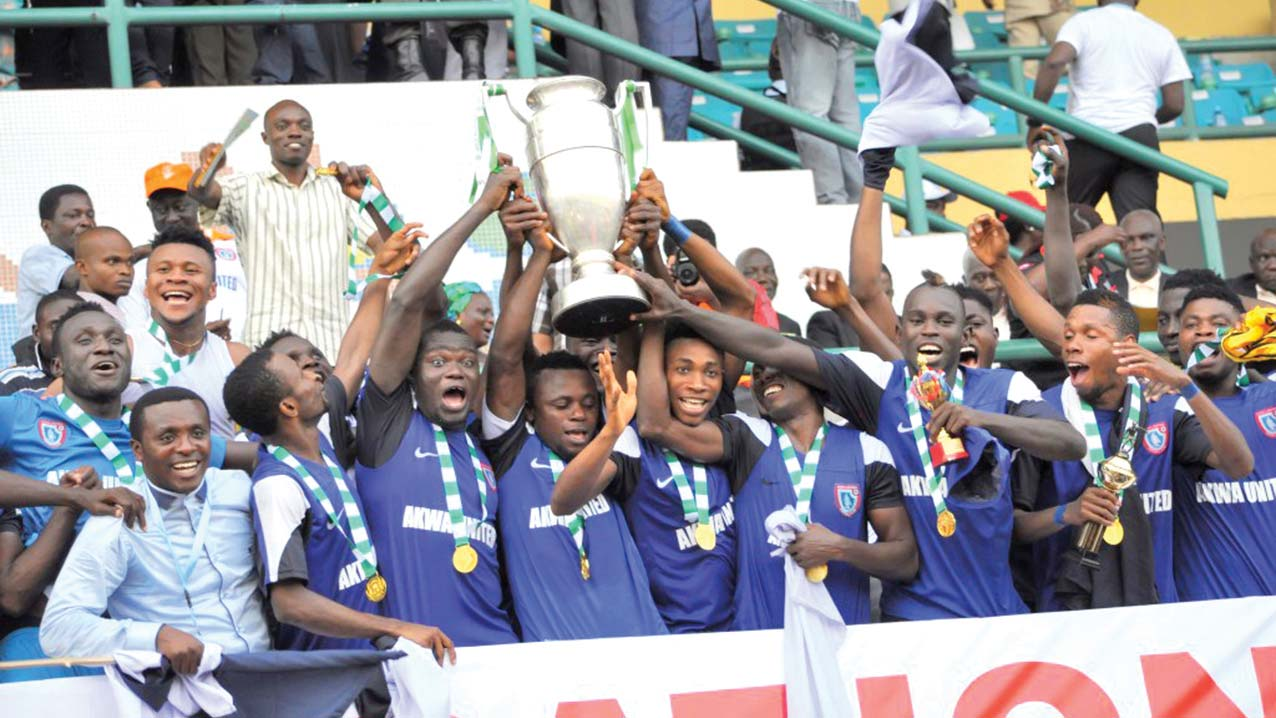 AITEO CUP: Akwa United crowned winners