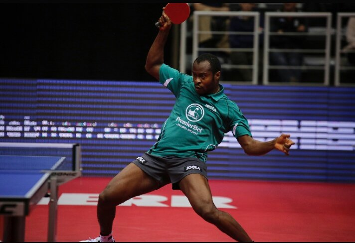 Table Tennis: Baba ijebu signs Nigeria's Aruna Quadri