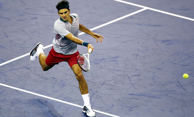 Federer sets another Del Potro clash in Shanghai Masters semi-final