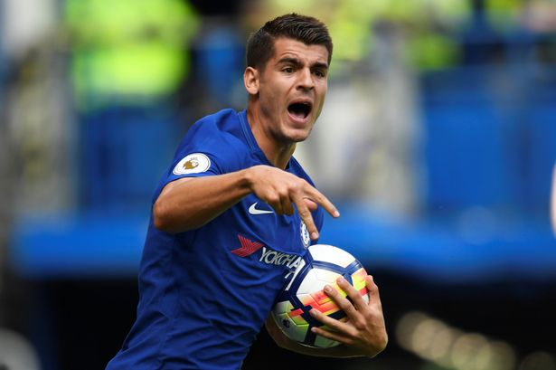 Alvaro Morata drops hint that he might leave chelsea and return to Italy
