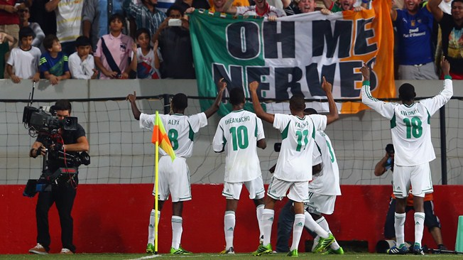 9 Players from 2013 U-17 team have progressed into the Super Eagles