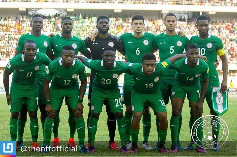 Two players on stand-by list to train with the Super Eagles on tuesday evening