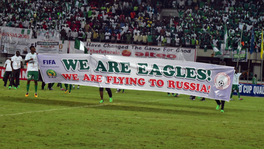 What the Super Eagles are Tweeting!